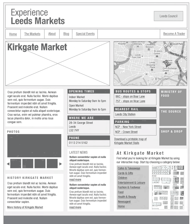 market page